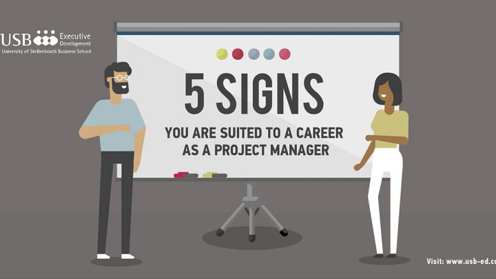 5 signs that you are suited to a career in project management