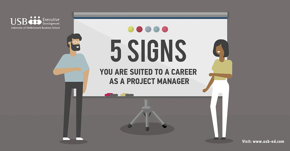 5 signs that you are suited to a career in project